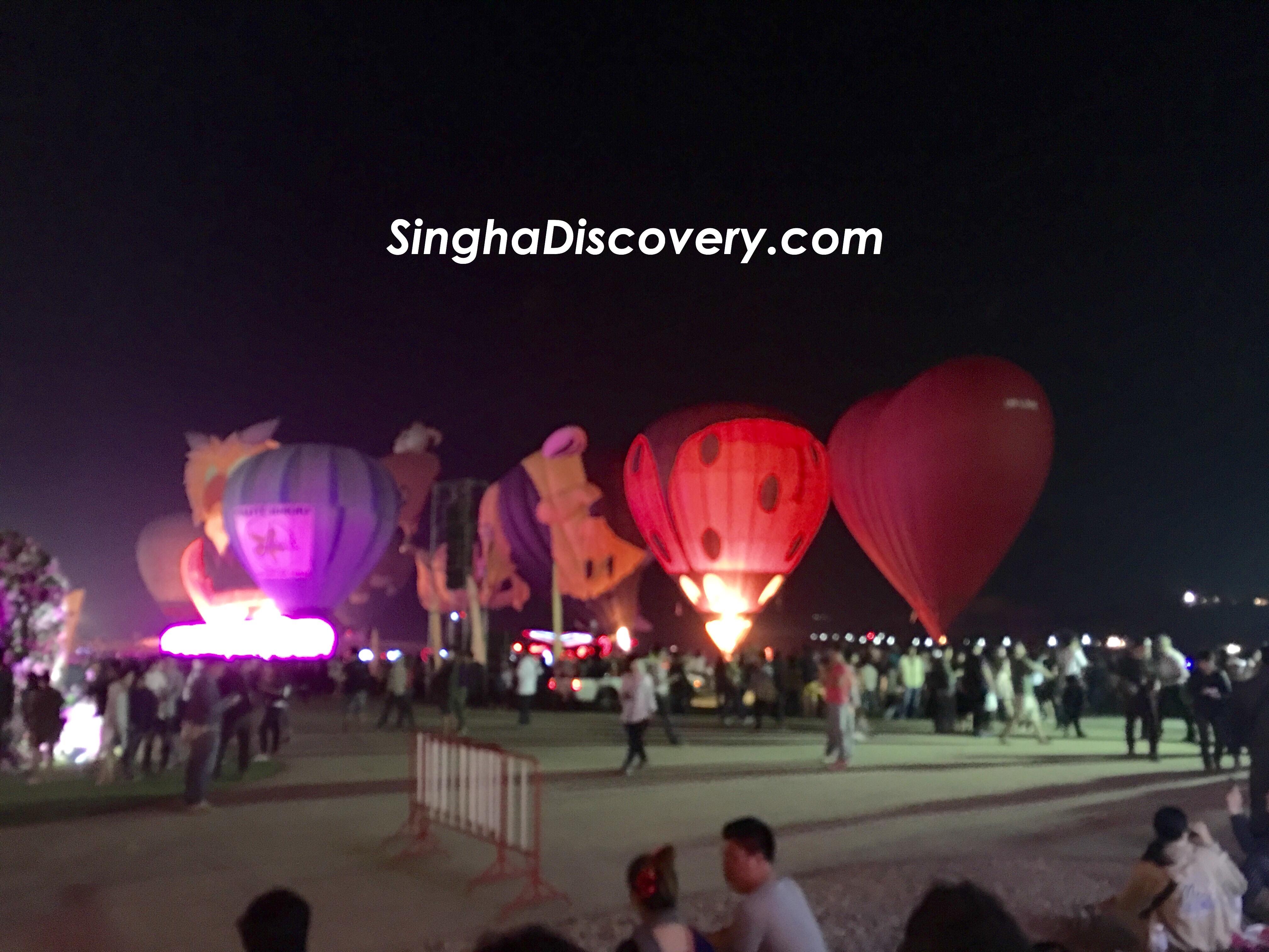 Singha Balloon Fiesta 2017